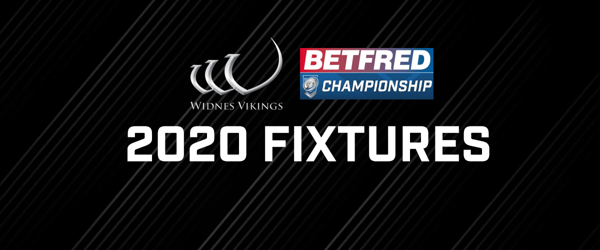 Vikings 2020 Schedule.Widnes Vikings 2020 Fixtures Widnes Vikings